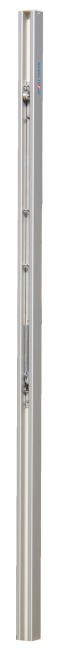 """Sport-Thieme 80x80-mm """"DVV I"""" Volleyball Posts With spindle tensioning device"""