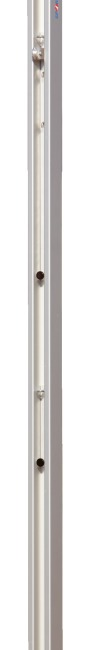 "Sport-Thieme 80x80-mm ""DVV II"" Volleyball Posts With spindle tensioning device"