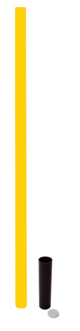 "Sport-Thieme ""All-Round"" Boundary Pole Yellow"