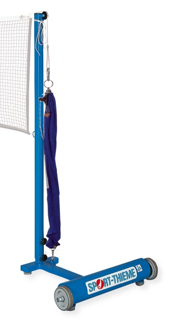 Sport-Thieme® Badminton Posts With a pulley tensioning system