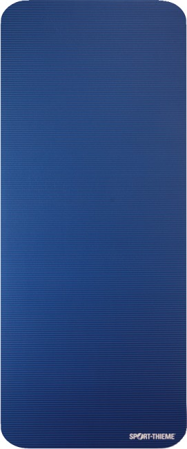 "Sport-Thieme ""Gym 15"" Exercise Mat Without eyelets, Blue"