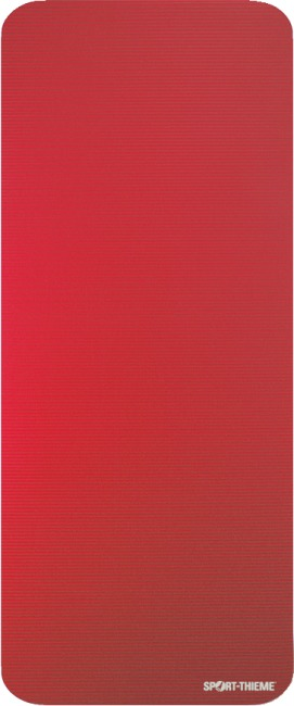 "Sport-Thieme ""Gym 15"" Exercise Mat Without eyelets, Red"