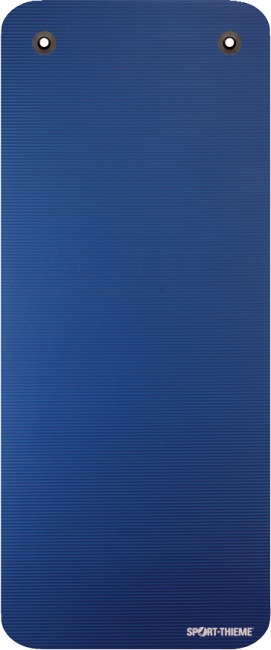 "Sport-Thieme ""Gym 15"" Exercise Mat With eyelets, Blue"