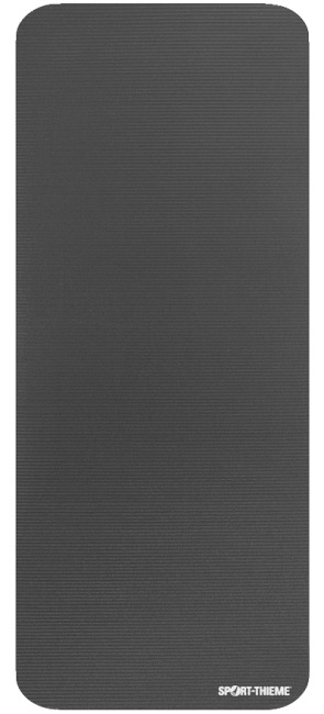 "Sport-Thieme ""Gym 15"" Exercise Mat Without eyelets, Anthracite"