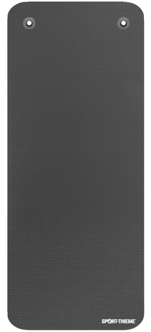 "Sport-Thieme ""Gym 15"" Exercise Mat With eyelets, Anthracite"