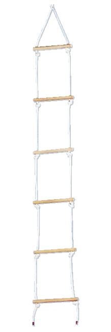 Sport-Thieme® Sisal Rope Ladder With 6 bars, 2 m long