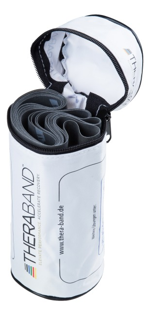 TheraBand™ 250-cm in a zip-up bag Black, very high