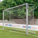 Sport-Thieme youth football goal 5x2 m, square tubing, socketed Bolted corner joints