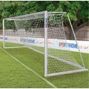 Sport-Thieme® Full-Size Goal 7.32x2.44 m, Portable 80x80-mm ground frame