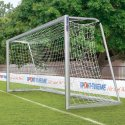 Fully Welded Youth Football Goal, 5x2 m,  with 120x100-mm Oval Tubing Base Frame