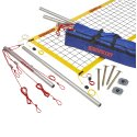 """SunVolley """"Plus"""" Beach Volleyball Set Without court marking, 8.5 m"""