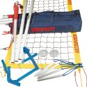 "SunVolley® ""Plus"" Beach Volleyball Set With court marking"