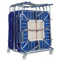 Eurotramp® Transport Trolley for Minitramps For 8 Minitramps