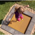 "Eurotramp® ""Kindergarten Mini"" Kids' Trampoline Square trampoline bed"