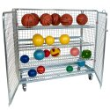 "Sport-Thieme ""Standard"" Shelved Trolley Without additional railing, 150x140x62 cm"
