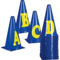 Marking Cones Letters A-Z