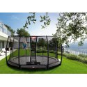 """Berg """"Champion"""" InGround Trampoline with Deluxe Safety Net Trampoline Grey edge cover, 330 cm"""