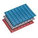 Pool Floor Mats 60 cm, Blue, 60 cm, Blue