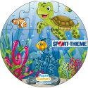 Puzzle Water Game Coral, Cylinder