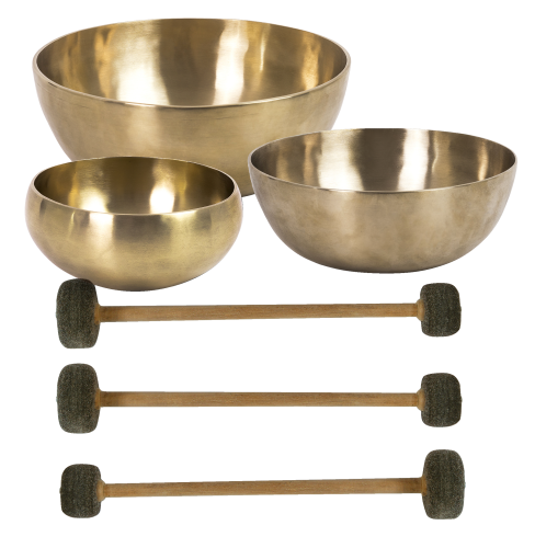 Peter Hess Set of Therapy Singing Bowls