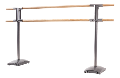 """Maurice"" Mobile Double Ballet Barre, 3 m"