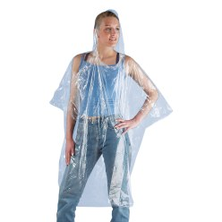 'Pluiva' Disposable Rain Poncho