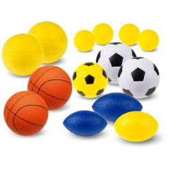 "Sport-Thieme® ""School"" PU Foam Ball Set"