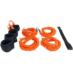 Stroops Son of The Beast Fitness Equipment Pair Of 2 Orange 68 kg