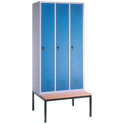 """S 3000 Evolo"" Locker with Bench"