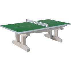 "Sport-Thieme® ""Premium"" Polymer Concrete Table Tennis Table Short legs, free-standing, Anthracite"