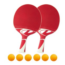 """Tacteo 50"" Table Tennis Bat Set"