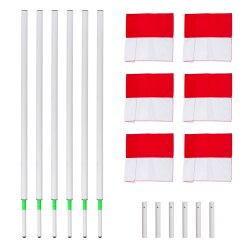 Sport-Thieme Tilting Boundary Pole Set