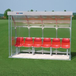 Sport-Thieme® Dugout for 6 People