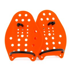 Sport-Thieme Swim-Power Paddles Size XS, 17x13 cm, orange