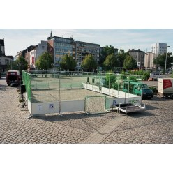 Mobile Street Football Court