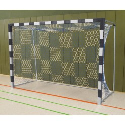 Sport-Thieme Handball Goal Black/silver, Bolted corner joints