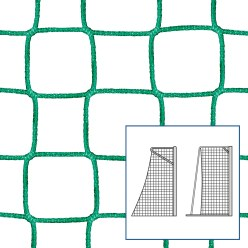 Knotless Net for Small Pitch and Handball Goals