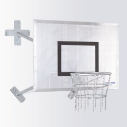 "Sport-Thieme Fair Play ""Outdoor"" Basketball Wall Unit"