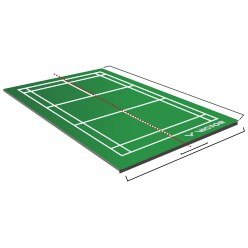 Victor 2 Piece Mobile Badminton Court