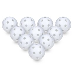Floorball Balls, Set of 10