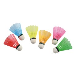 Victor® Badminton Shuttles with Colourful Skirt