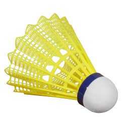 "Victor ""Shuttle 1000"" Badminton Shuttles Blue/yellow, medium"