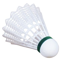 "Victor ""Shuttle 2000"" Badminton Shuttles Green/white, slow"