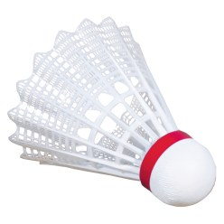 "Victor® ""Shuttle 2000"" Badminton Shuttles  Blue, medium, white"