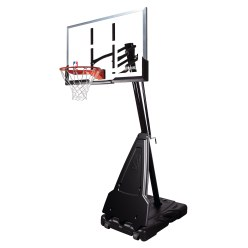 "Spalding ""NBA Platinum Helix Lift Portable"" Basketball Unit"
