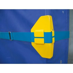 Protective Mat Corners for Wall Mounting Strap