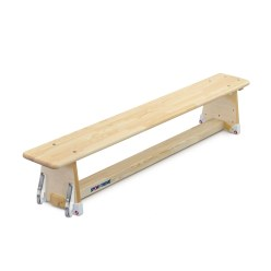 "Sport-Thieme® ""Original"" Gymnastics Bench 4 m, DIN 7909, Without castors"