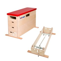 "Sport-Thieme® ""Multiplex"" 4-Part Vaulting Box"