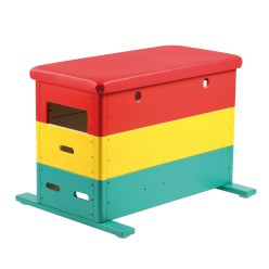 """Vario"" Mini 3-Part Multicoloured Vaulting Box"