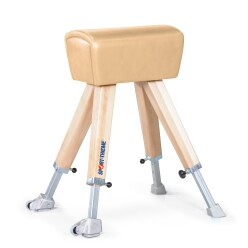 Sport-Thieme® Vaulting Buck with Wooden Legs